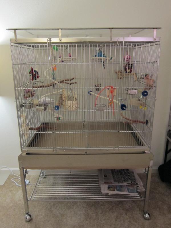 expandable habitats budgie cage