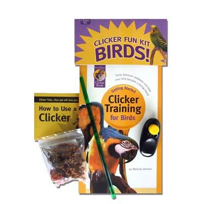 Clicker Training for Birds - Kit