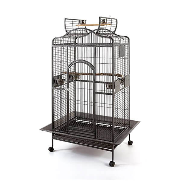 A cage for extra large birds