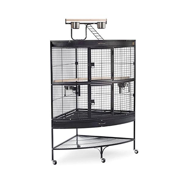 A corner cage